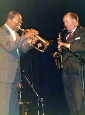 Cph '92 Arne Domnerus and Clark Terry