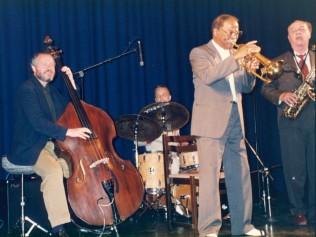 Cph '92 Clark Terry, Arne Domnerus, NHØP and Peter Danemo